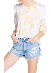 PJ Salvage Sunburst Tie Dye Long Sleeve T-Shirt