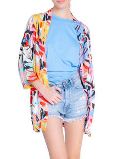 PJ Salvage Tropical Staycation Open Front Robe