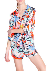 PJ Salvage Tropical Staycay Short Pajamas & Sleep Mask