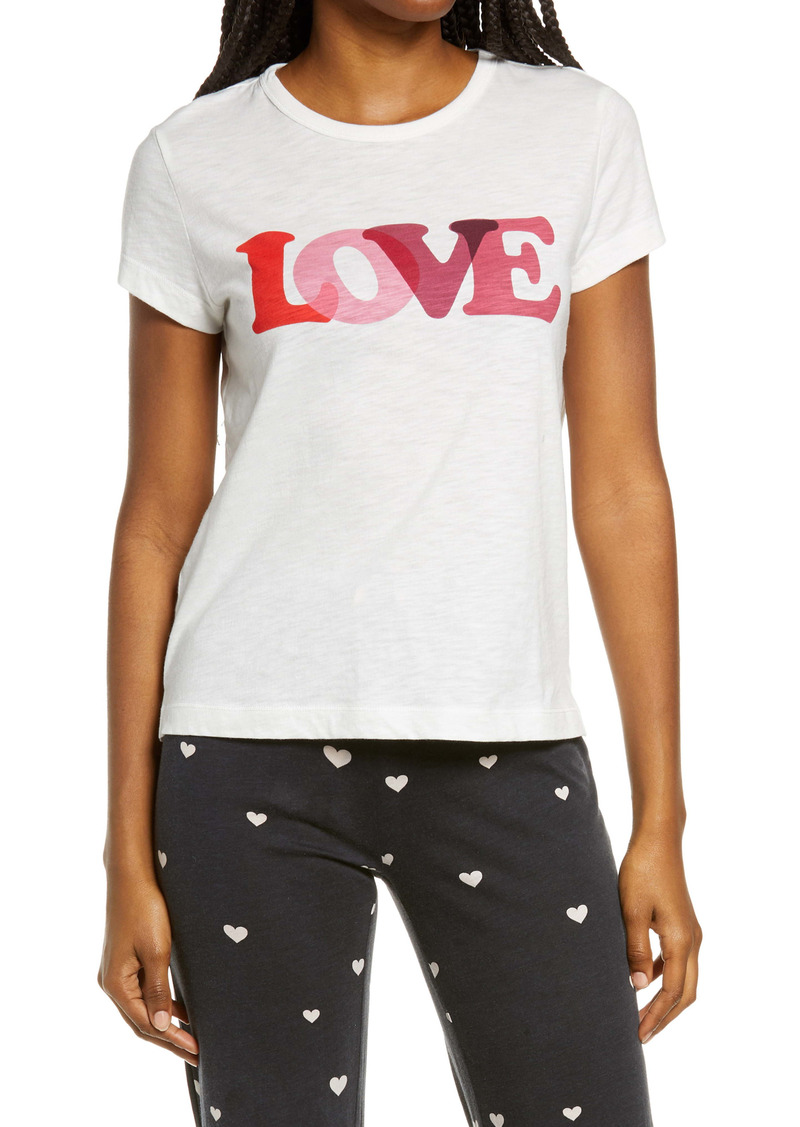 PJ Salvage With a Kiss Graphic Tee