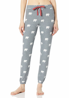 PJ Salvage Women's Loungewear Bear with Me Banded Pant  L