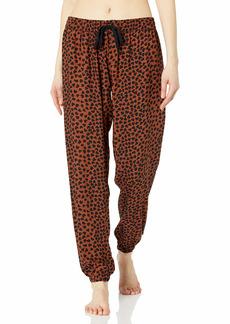 PJ Salvage Women's Loungewear Wild Love Banded Pant  S