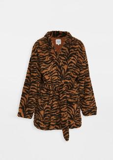 Plush Teddy Tiger Robe