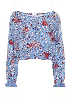 Poupette St Barth Exclusive to Mytheresa – Betty printed crop top