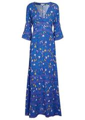 Poupette St Barth Exclusive to Mytheresa – Capri floral crêpe maxi dress