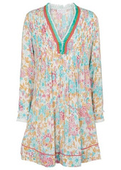 Poupette St Barth Exclusive to Mytheresa – Ola floral pleated minidress