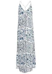 Poupette St Barth Felicia floral slip dress
