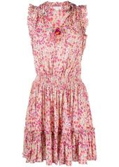 Poupette St Barth floral shift mini dress