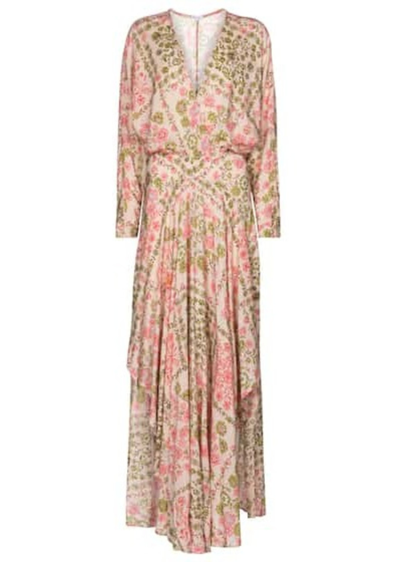 Poupette St Barth Ilona floral maxi dress