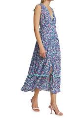 Poupette St Barth Ivy Printed Maxi Dress