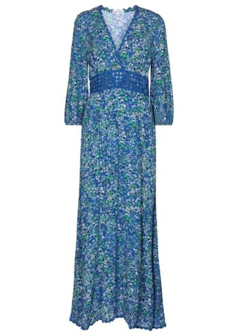 Poupette St Barth Joan floral maxi dress