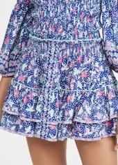 Poupette St Barth Camila Ruffled Miniskirt