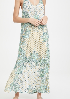 Poupette St Barth Felicia Sleeveless Long Dress