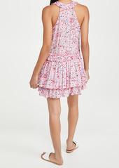 Poupette St Barth Mae Ruffled Mini Dress
