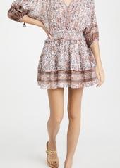 Poupette St Barth Mini Dress Ariel Pleated