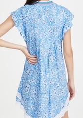 Poupette St Barth Sasha Lace Trimmed Mini Dress