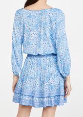 Poupette St Barth Selena Buttoned Mini Dress