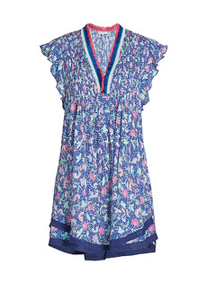 Poupette St Barth Sasha Printed Dress