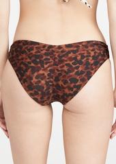 PQ Swim Basic Ruched Full Reversible Bikini Bottoms