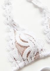 PQ Swim Lace Halter Bikini Top