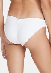 PQ Swim Ruched Full Bikini Bottoms