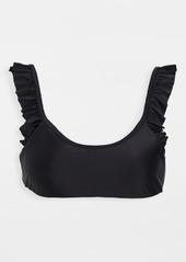 PQ Swim Ruffle Bralette Bikini Top
