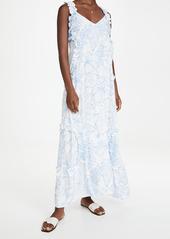 PQ Swim Ruffle Long Dress
