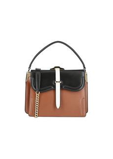 Prada Colorblock Leather Shoulder Bag