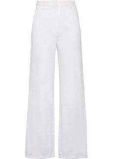 Prada high-waist cropped jeans