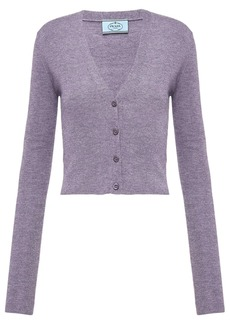 Prada knitted button-front cardigan