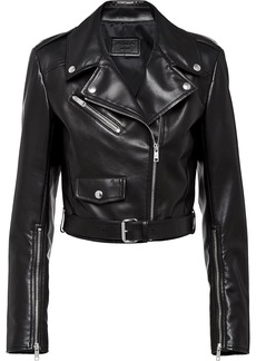 Prada Nappa leather biker jacket