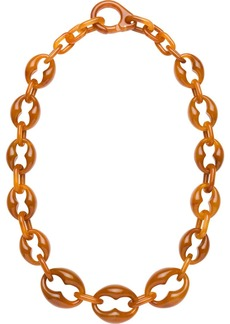 Prada Plexiglass necklace