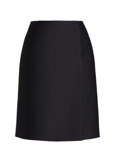 Prada - Women's Radzmir Mini Wrap Skirt  - Black - Moda Operandi
