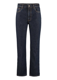 Prada 5-pocket Straight-leg Jeans