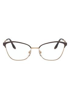 Prada 52mm Cat Eye Optical Glasses