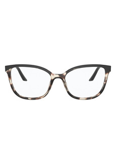 Prada 54mm Cat Eye Optical Glasses