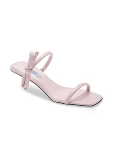 Prada Double Strap Bow Sandal (Women)