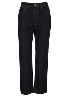 Prada Indigo Denim Five-pocket Jeans