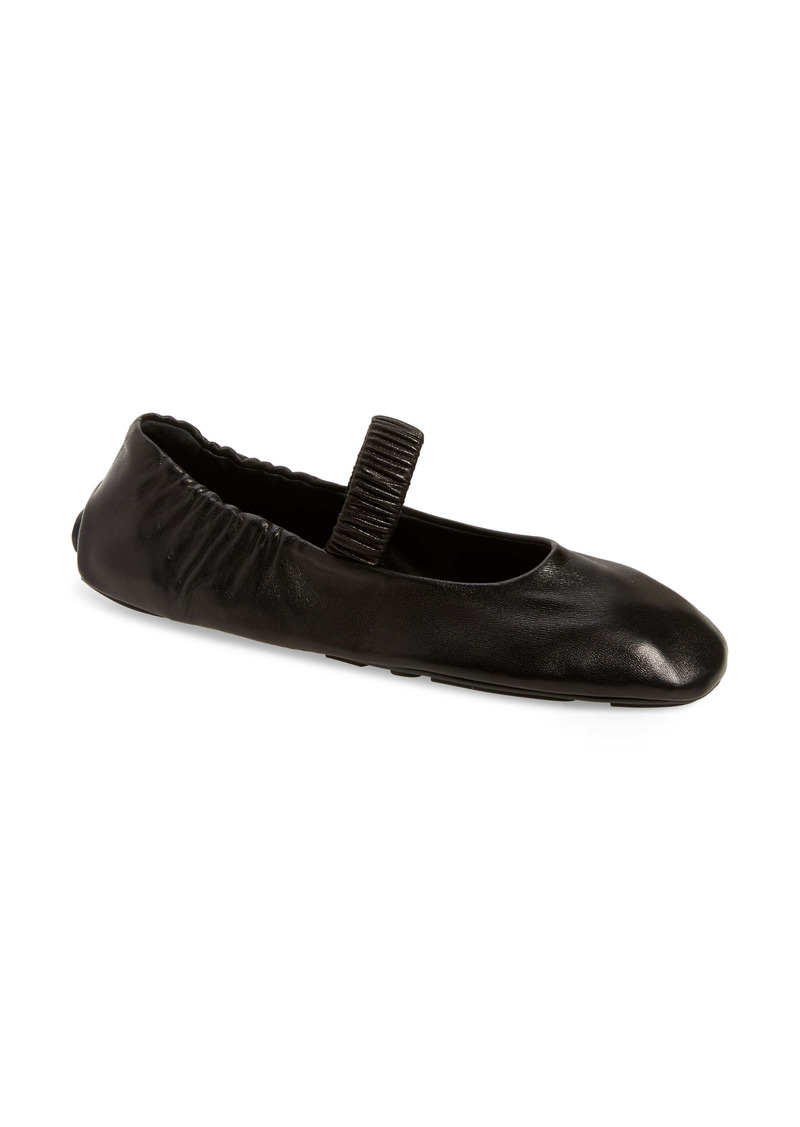 Prada Mary Jane Ballet Flat (Women)