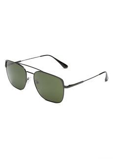 Prada Men's Brow Bar Aviator Sunglasses, 59mm