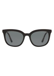 Prada Pillow 53mm Polarized Square Sunglasses