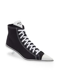 Prada Pointed Toe Sneaker Pump (Women)