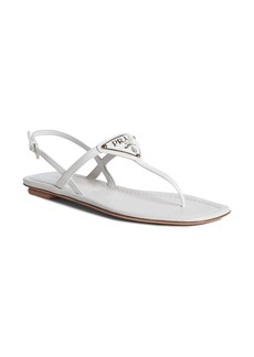 Prada Triangle Logo Sandal (Women)
