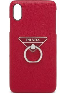 Prada ring-detail iPhone XS MAX case