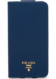 Prada logo-plaque iPhone XS Max case