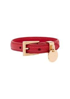 Prada Saffiano leather bracelet