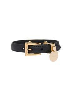 Prada saffiano logo tag bracelet