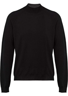 Prada turtle-neck fitted sweater