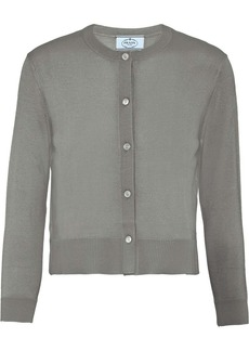 Prada wool knitted cardigan