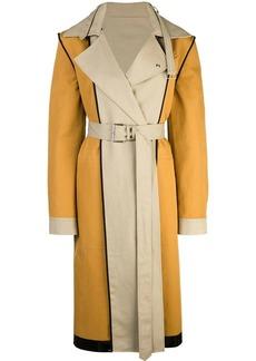 Proenza Schouler Bonded Cotton Trench Coat